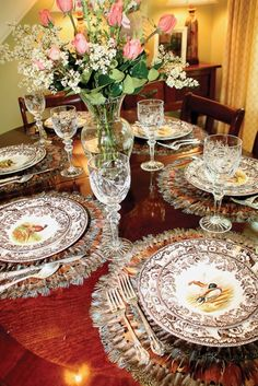 Spode China - Woodlands. http://www.annabelchaffer.com/categories/Dining-Accessories/