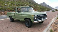 Ford F100 1972 boxwood green