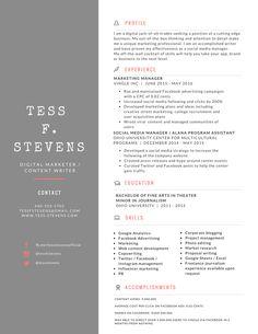 resume design personal branding personal branding pinterest