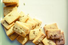 Parmesan Shortbread with Fennel