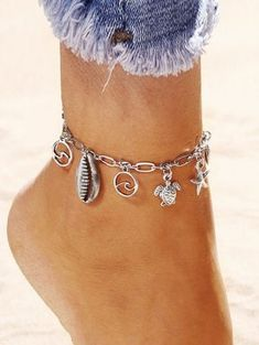 Vogun 2016 Cheap Dolphin Women bracelet foot ankle chain jewelry Gift Beauty Sq Girls Beach Cute Pendant Ankles Anklets Womans Elegant Charm Colorful Fashion