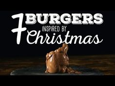 Goose confit burger with knodel bun, 7 Burgers inspired by Christmas A Food, Good Food, Yummy Food, Awesome Food, Yummy Recipes, Christmas Themes, Christmas Holidays, Always Hungry, Sandwiches