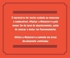 CUIDADOS A TER COM MOTOSSERRAS Cuidado nº 23 Terminamos hoje a lista de cuidados a ter com motosserras. Esperamos que estes 23 cuidados sejam úteis para o vosso dia-a-dia.´ #motosserra #oleomac #oleomacportugal #lusomotos #cuidados #dicas #corte
