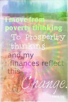 Quote by Louise Hay Positive Self Talk, Positive Words, Positive Life, Positive Thoughts, Positive Quotes, Gratitude Quotes, Louise Hay Affirmations, Prosperity Affirmations, Money Affirmations