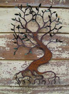 Sue Seeger's metal art ~ nice!