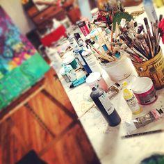 Michelle Allen - art supplies