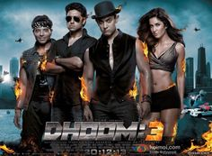 Dhoom 3 Movie Poster | Shah Rukh, Aamir, Akshay, Ranbir, Saif: Who'll Win The 'Best Poster Of 2013′ Race? | Koimoi