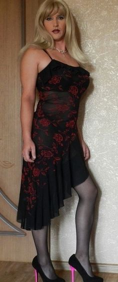 Your inner woman: beautiful crossdressers: Feminine Men Dress, Dress Up, Tv Girls, After Life, Lingerie, Crossdressers, Looking For Women, Sexy, Girly