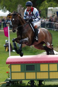 William Fox-Pitt and Lionheart at the Olympics, London 2012