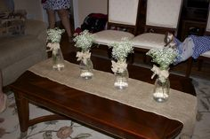 Real Event Baby Baxley: Centerpieces