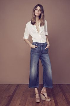 New Ways to Wear Denim Like an Icon via @WhoWhatWear   happy to see these returning!