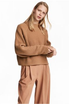 Pull en laine - Camel - FEMME | H&M FR 1