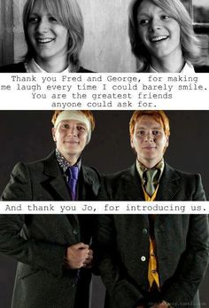 THANK YOU HARRY POTTER SERIES FOR BEING A WONDERFUL PART OF MY CHILDHOOD!!! I WILL ALWAYS BE A TRUE POTTERHEAD!!!