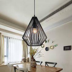 industrial pendant lights vintage restaurant bar foyer loft lustre industriel lamps light hanging lamp dinning room lamps