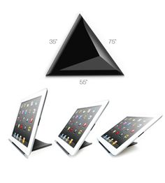 Black Facet for iPad from Ilovehandles