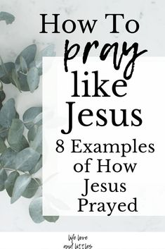 Jesus gives us many examples throughout the bible on how to pray. Here are 8 ways Jesus teaches us how to pray. You can apply these ways to your daily prayer life. Prayer Scriptures, Bible Prayers, Faith Prayer, Prayer Quotes, Faith In God, Bible Quotes, Jesus Bible, Prayer To Jesus, Jesus Quotes