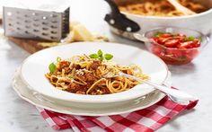 Spaghetti med köttfärssås