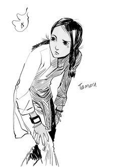 Tamara, drawn by Cassandra Jean!