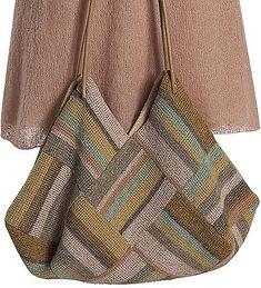 Bolsa muito linda de crochê