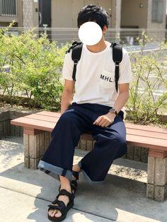 Nissy's WEAR Coordinate 2017.6.18 【theme】 白Tシャツ×ワイ