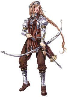 Lylia from Valkyrie Profile: Silmeria