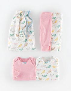 Pack gemütliche Lochstrickshirts 76043 Neugeborene bei Boden