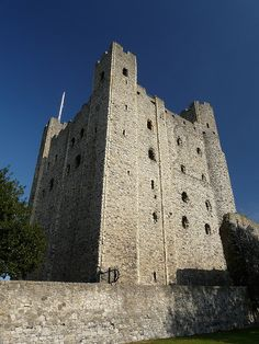 Rochester Castle by Colin'sPic's, via Flickr. Rochester Cathedral is England's second oldest cathedral, having been founded in 604AD by Bishop Justus. The present building dates back to the work of the French monk, Gundulf, in 1080. The glorious Norman architecture of the nave, parts of the crypt, as well as one of the finest Romanesque facades in England, make this an inspirational place to visit.