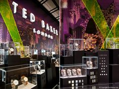 FormRoom for Ted Baker | Baselworld Trade Show Stand | #TedBaker #TradeShow #TradeShowStand #Design #TradeStand #Watches #Baselworld #WatchesTradeShow #PopUp