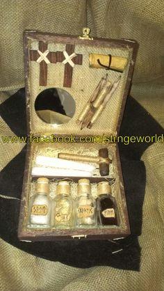 Vampire Hunting Kit  Www.facebook.com/strngeworld