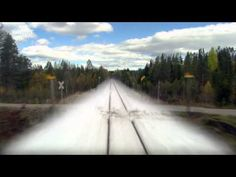 amazing video of norway through the four seasons, filmed from a train // by eirik solheim, via boingboing.net