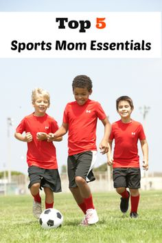 Are you a team sports mom?  Check out these Top 5 Sports Mom Essentials that are sure to save you time and energy when taking your child to sports games and practices.