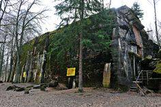 Wolf's Lair, Poland... Hitler's headquarters during WWII