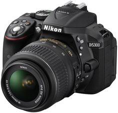 Nikon D5300 – 24 MP, SLR Camera, Black, 18 – 55mm VR Lens Kit