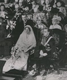 Prince Bernhard and Queen Juliana of the Netherlands