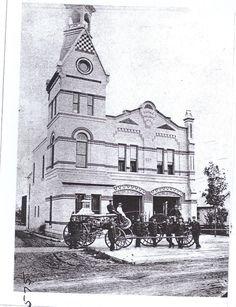 Engine House #2, Barclay & Michigan - 1880s