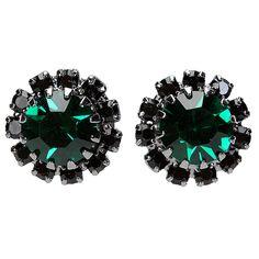 Brinco Dani Baratella Pequeno Pedras Verde | Zattini - A nova loja de moda online da Netshoes