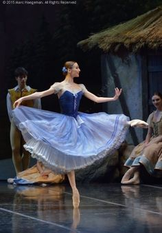 Giselle at Teatro Alla Scala (February 2015): Principal guests Svetlana Zakharova and Friedemann Vogel as Giselle and Albrecht, Nicoletta Manni as Myrtha.