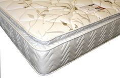 """6ft Savoy Pocket Sprung Pillowtop Mattress - £584.95 - We are often asked for a high quality pocket sprung mattress that does not require turning and with a super deep quilted pillowed surface. The Savoy Pocket Sprung pillowtop mattress has been developed to be of a medium feel but with outstanding support due to the individual hand nested pocket spring system. This offers maximum support without being firm and also gives you a true """"no roll together"""" mattress."""