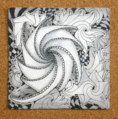 Phicops Zentangle by Zentangle Founder Maria Thomas