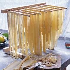 William Sonoma Fresh Pasta Recipe (uses kitchenaid mixer and pasta roller attachments)