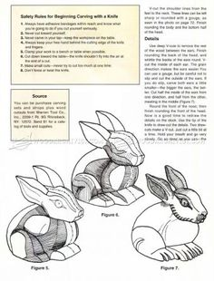 #1392 Bunny Carving - Wood Carving Patterns - Wood Carving
