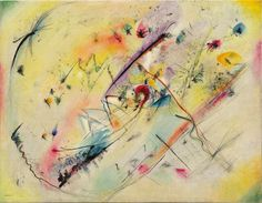Wassily Kandinsky Light Picture (Helles Bild) 1913