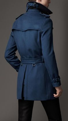 Wool trench coat by Burberry