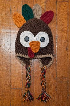 Crochet Turkey/Thanksgiving Hat