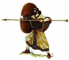 Elamite warrior