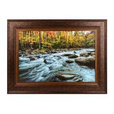 Mountain Stream Framed Art Print   Kirklands
