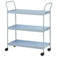 VARANDA/LIVING: Carrinho Olle   73 x 38 x 83 cm   R$499,50 // TAMANHO MÁXIMO: 75 x 41 x 80 cm - Pode-se revezar o uso entre o living e a varanda, utilizando duas peças ao pé da cama.