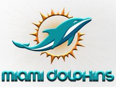 ClipArt of Miami Dolphins | Pin it Like Image