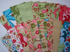 """MODA Fabric Pack. 44"""" Long JELLY ROLL in * WOODLAND BLOOM * rrp £29.50 
