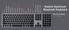 Satechi、USB-C充電に対応したBluetoothおよびUSB有線キーボード3種類の発売を記念して各キーボードを20%OFFで販売中 App Play, Mac Os, Computer Keyboard, Apple, Computer Keypad, Keyboard, Apples